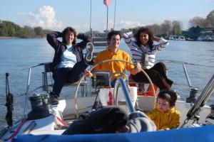 Carlo, Rita, Silvia e Lorenzo